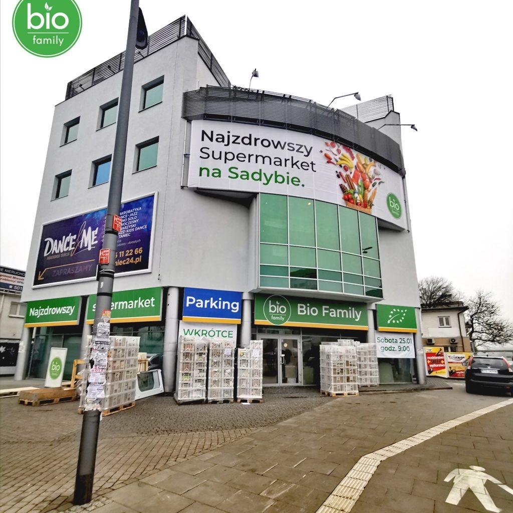 Bio Family Supermarket Warszawa Sadyba Powsińska 42