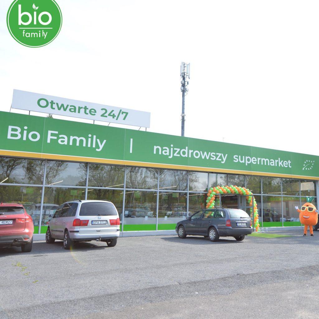 Bio Family Supermarket ul. Olsztyńska 2, Poznań-Smochowice